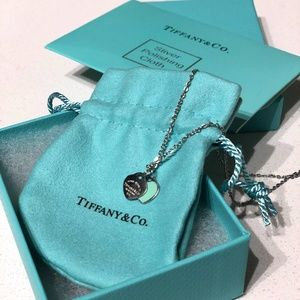 Tiffany&Co Double Heart Necklace
